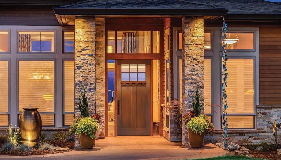 doors posts iron door three finish in quarters with fiberglass insert stained slab portfolio