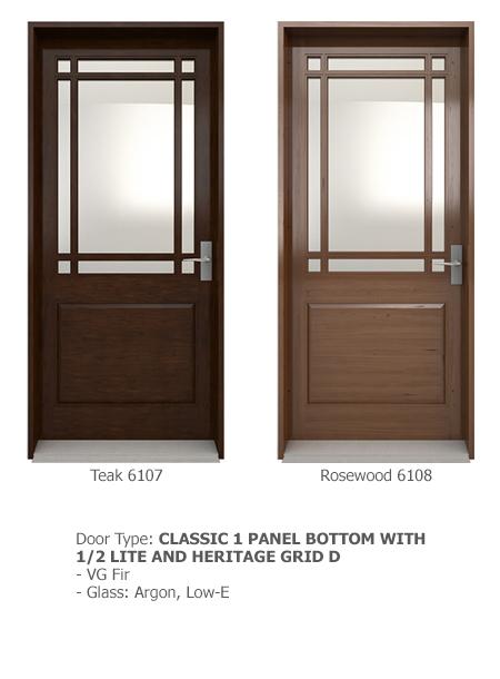 Classic Wood Exterior Doors 05