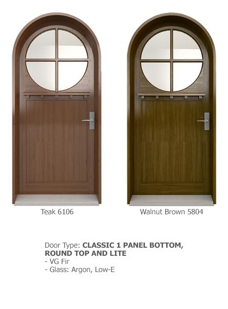 Classic Wood Exterior Doors 12