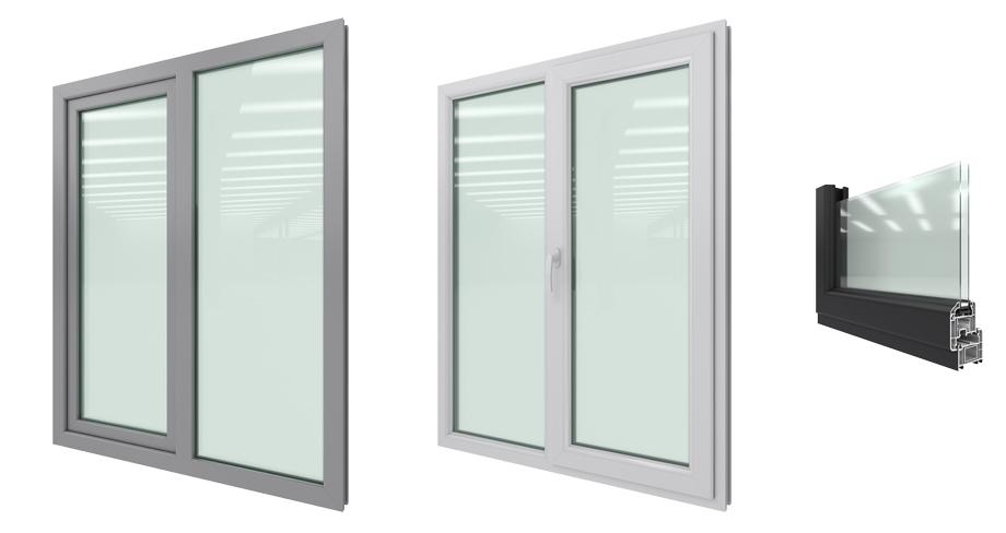 Commercial Tilt And Turn : Vinyl tilt and turn windows westeck doors