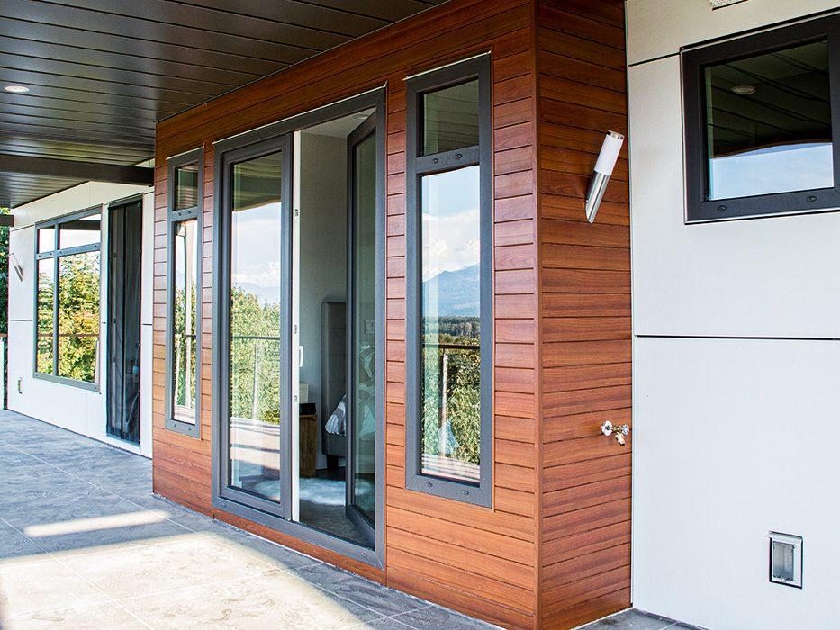 Black Exterior Painted Windows And Doors Westeck Windows And Doors