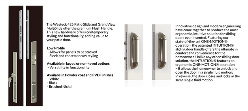 425 Patio Slide Hardware