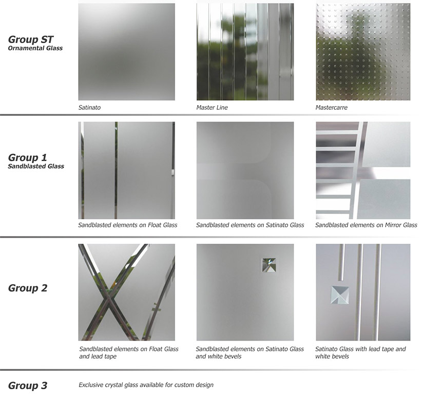 Elite Plus Exterior Door Glass Selection