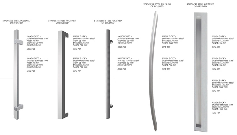 Elite Plus Exterior Door Hardware Selection Handles Steel