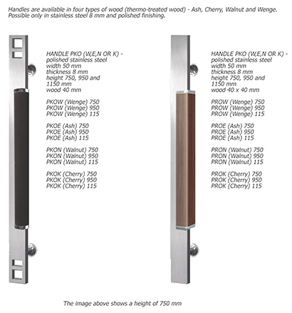 Elite Plus Exterior Door Hardware Selection Handles Wood Steel