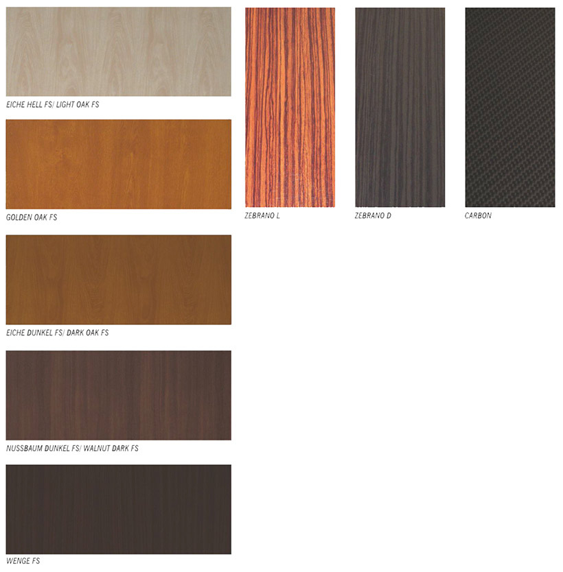 Elite Plus Exterior Door Wood Texture Selection