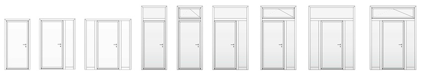 Exterior Door Construction Options