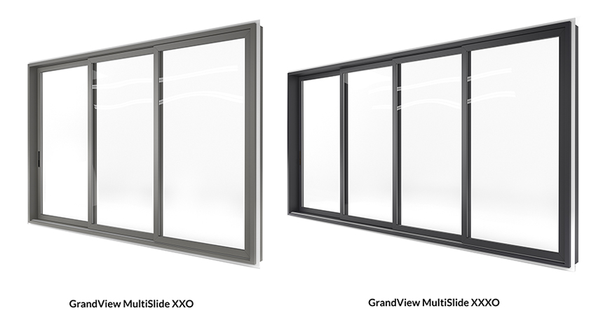 GrandView MultiSlide Configurations