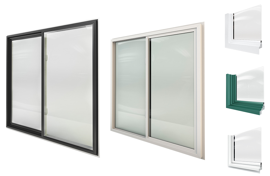 Vinyl Slider Windows