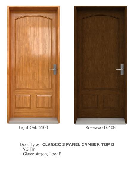 Classic Wood Exterior Doors 09