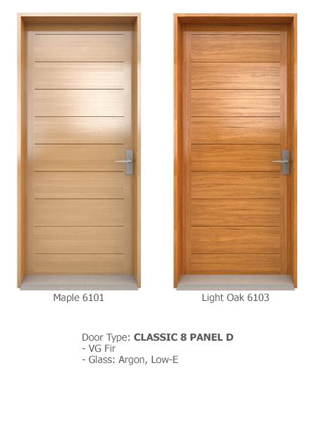 Classic Wood Exterior Doors 10