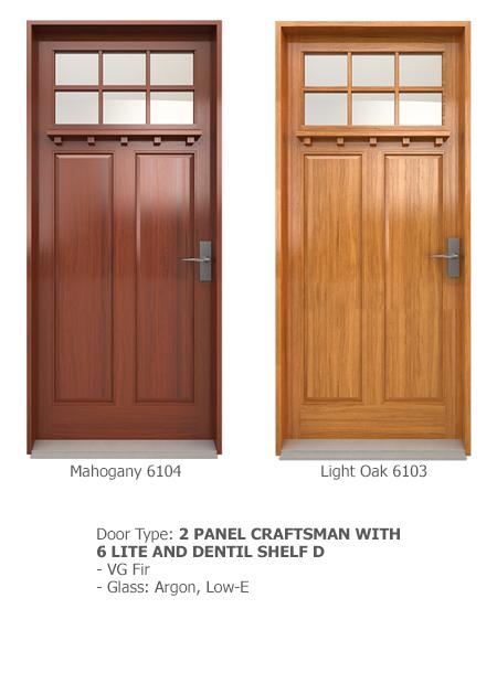 Classic Wood Exterior Doors 11