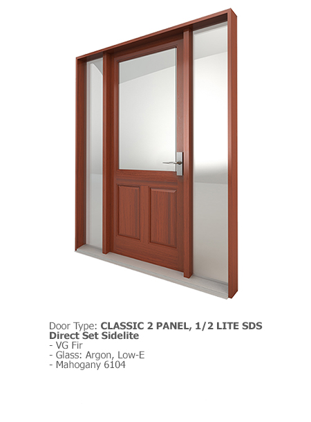 Westeck Classic Wood SDS 04