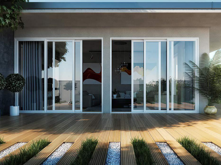 The Grandview Multislide Patio Door Westeck Windows And