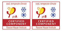 Passive House Certified Components