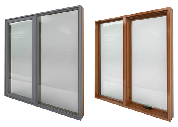 Metal Clad Wood Casement Windows