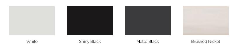 4300 Casement Hardware Colors