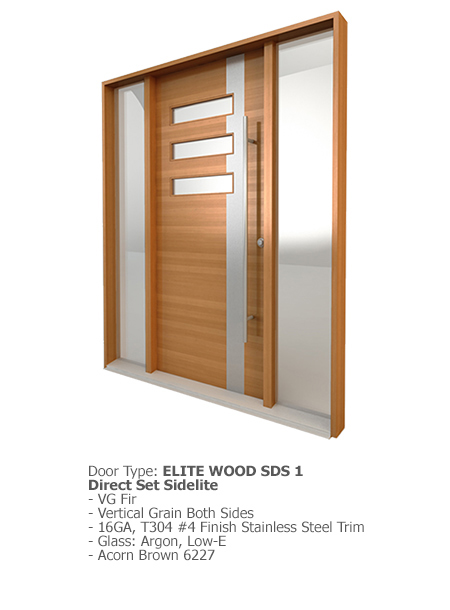 Elite Wood Doors SDS 01
