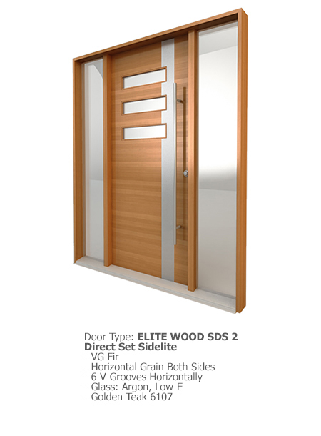 Elite Wood Doors SDS 02