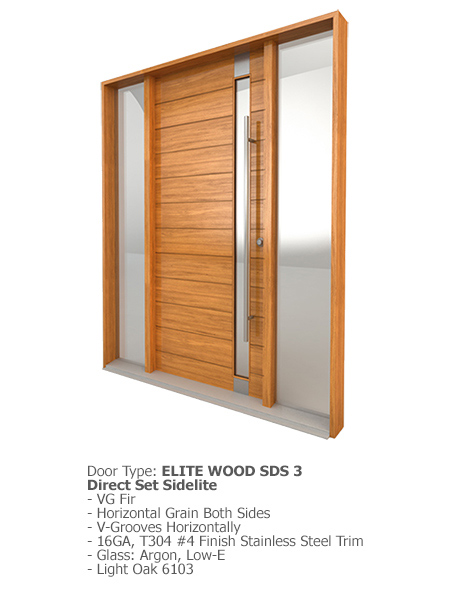 Elite Wood Doors SDS 03