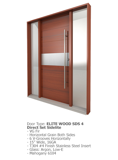 Elite Wood Doors SDS 04