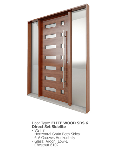 Elite Wood Doors SDS 06