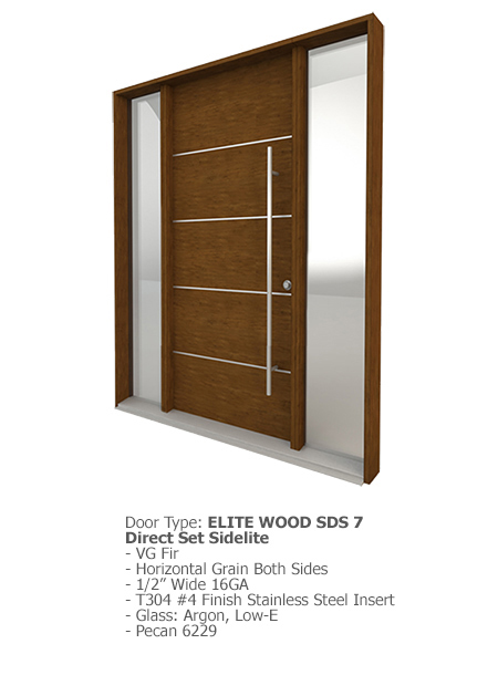 Elite Wood Doors SDS 07