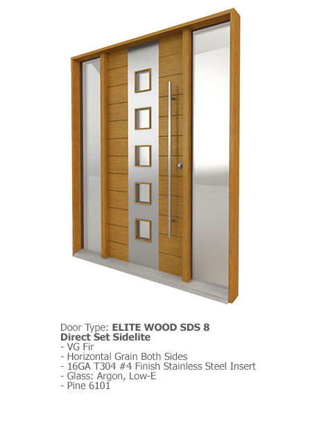 Elite Wood Doors SDS 08