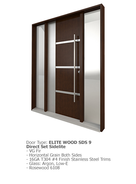 Elite Wood Doors SDS 09