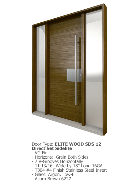 Elite Wood Doors SDS 12